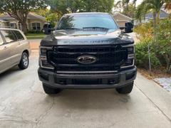 F150LEDs.com 2017 - 2021 F250 Super Duty PALADIN 210W Curved CREE XTE LED Bumper Bar Review