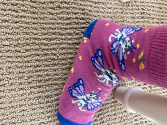 John's Crazy Socks Catterfly Youth Crew Socks Review
