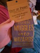 John's Crazy Socks Books Turn Muggles Into Wizards Sock Review