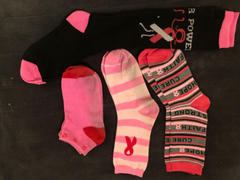 John's Crazy Socks Breast Cancer Awareness Socks Women's Crew Sock Review