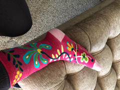 John's Crazy Socks Hi, I Don't Care, Thanks Socks Women's Crew Sock Review