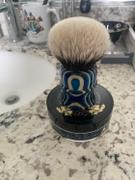 Black Ship Grooming Co. Whaler Shaving Brush 28mm Two Band Badger Man of War  Color Review