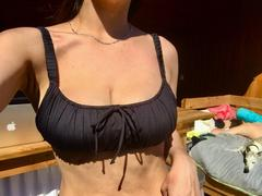Frankies Bikinis Greta Top - Black Review