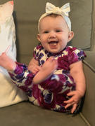 Posh Peanut Violet Ruffled Cap Sleeve Romper Review