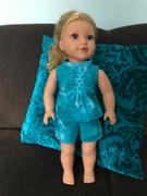 Pixie Faire Pleated Dress 18 Doll Clothes Pattern Review