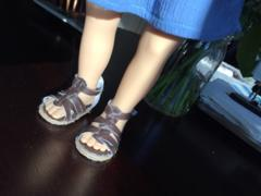 Pixie Faire Gladiator Sandals 18 Doll Shoes Review