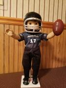 Pixie Faire Football Helmet 18 Doll Accessory Pattern Review