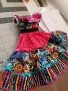 Pixie Faire Fiesta Folklorico Dress & Blouse 14-14.5 Doll Clothes Pattern Review