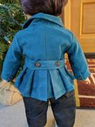 Pixie Faire Piccadilly Peacoat 18 Doll Clothes Pattern Review