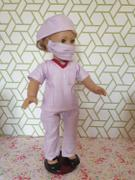 Pixie Faire Scrubs Outfit 18 Doll Clothes Pattern Review
