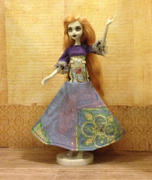 Pixie Faire Bohemian Beauty Maxi Dress and Floppy Hat Pattern for Monster High Dolls Review