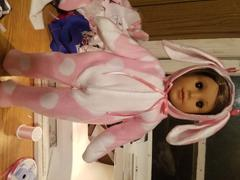 Pixie Faire Hoppity Easter Bunny Outift 18 Doll Clothes Pattern Review
