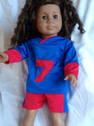 Pixie Faire Football Jersey 18 Doll Clothes Review