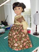 Pixie Faire 1830's Sarah Hale Dress 18 Doll Clothes Pattern Review