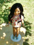Pixie Faire Skinny Jeans and Shorts Pattern for Les Cheries and Hearts For Hearts Girls Dolls Review