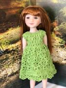 Pixie Faire Spring Petal Dress Crochet Pattern For Ruby Red Fashion Friends Dolls Review