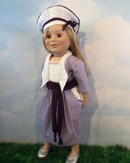 Pixie Faire 1918 Bowling Pin Dress 18 Doll Clothes Pattern Review