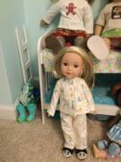 Pixie Faire Slumber Party Pajamas 14.5 Doll Clothes Pattern Review