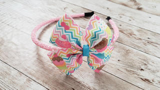 Pretty in Pink Supply Chunky Iridescent Glitter Lined Headbands Review
