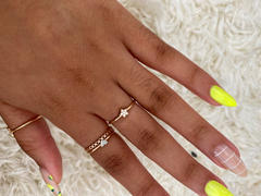 Ferkos Fine Jewelry 14K Gold Star Shaped Diamond Ring Review