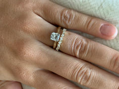Ferkos Fine Jewelry 14K Gold Slanted Marquise and Round Diamond Ring Review
