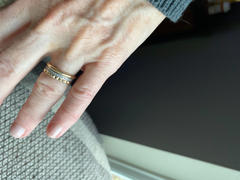 Ferkos Fine Jewelry 14K Gold Spike Pyramid Eternity Ring Review