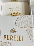 PURELEI PURELEI 'White Crystal' Ring Gold Review