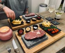 Black Rock Grill Black Rock Grill Steak Stones Cooking Set Review