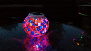 Next Deal Shop Solar-Powered Mosaic Glass Ball Review