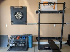 PRx Performance Start: PRx Wall-Mounted Fold-In Murphy Squat Rack with Pull-Up Bar - BYO Package Review