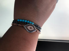 Karma and Luck The Guardian Turquoise Stone Bracelet - December Birthstone Review