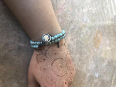 Karma and Luck Blossoming Tranquility Turquoise Stone Wrap Bracelet Review
