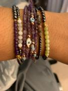 Karma and Luck Blessed Equilibrium - Amethyst Lotus Hematite Health Bracelet Review