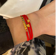 Karma and Luck Complete Mindfulness - Gold Lotus OM Red String Chakra Wrap Review