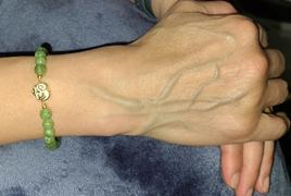 Karma and Luck Inner Harmony - Jade Stone OM Charm Bracelet Review