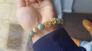 Karma and Luck Fulfillment of Potential - Jade Dragon Charm Bracelet Review