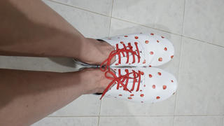 Anothersole SG | Probably the best travel shoes Strawberry - White Review
