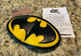Tiger Stone FX Batman classic oval / Batman the animated series inspired chest emblem Review