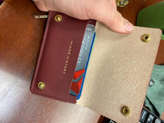 Minor History Small Keychain Wallet <br> Oiled Saddle Review