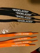 LaceSpace Laces Black -  SHOELACES  inspired by OFF-WHITE x Nike- Flat Laces Review