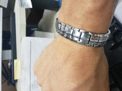 MagnetRX Ultra Strength Magnetic Therapy Bracelet Silver Classic Review