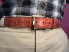 Southern Trapper Cognac Crocodile Belt Review