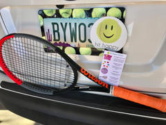 Hit Happy Tennis Hit Happy Car Decal Review