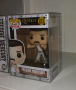 PPJoe Pop Protectors IN STOCK: Funko POP Rocks: Queen - Freddie Mercury Radio Gaga 1985 with Musical Review