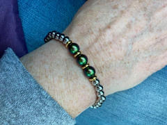 HorseFeathers Jewelry & Gifts Mental Health Awareness | Swarovski Pearl + Stainless Steel Bracelet Review