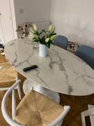 LoungeLiving.co.uk Mark Harris Brittney 160cm Oval White Dining Table Review