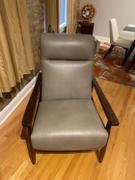 Club Furniture Peter Mid-Century Modern Leather Recliner Review