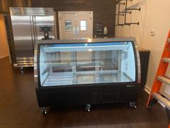 Iron Mountain Refrigeration & Equipment, LLC. Black Curved Glass 64 Deli Showcase Review