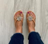 laidback london Doli Flat Light Brown Silver Review