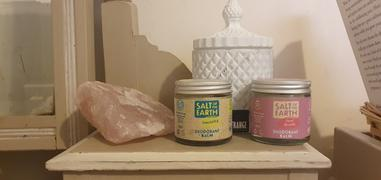 Crystal Spring Online Store Unscented Natural Deodorant Balm - Plastic Free & Aluminium Free Review